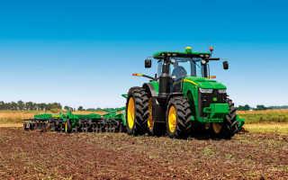 Трактор Джон Дир: технические характеристики, отзывы