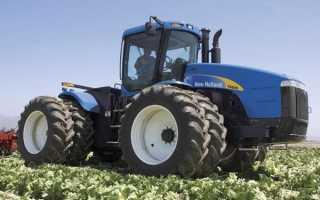 Описание трактора Нью Холланд, Все о спецтехнике