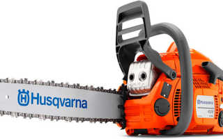 Бензопила Husqvarna 435: характеристики, отзывы, описание, аналоги