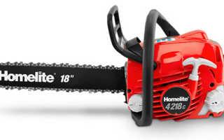 Бензопилы Homelite: отзывы, достоинства, недостатки, цены, аналоги