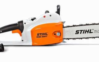 Электропилы Stihl — описание, отзывы