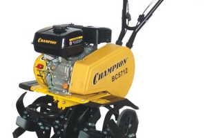 Культиватор Чемпион ВС 5712 двигатель, цена, отзывы и навесное оборудование