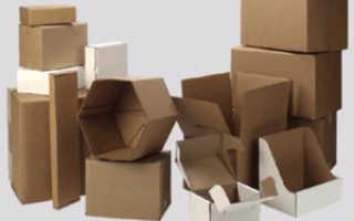 Преимущества упаковок из гофрокартона