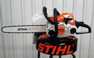 Бензопила Stihl MS 170: преимущества и характеристика