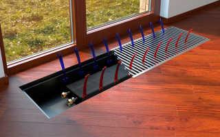Напольный водяной конвектор: комплектация и особенности эксплуатации