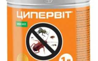 Ципервит, препарат от всех насекомых