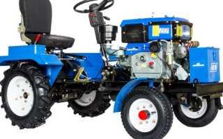 Минитрактор Скаут GS-T12 (Scout) — технические характеристики и устройство