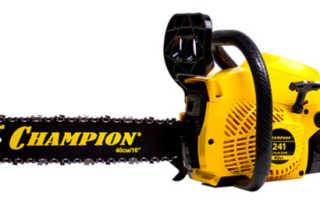 Бензопила Champion 241-16: характеристики, отзывы, описание, аналоги