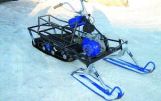 Самодельные снегоходы: инструкция по изготовлению своими руками снегоката из мотоблока и бензопилы