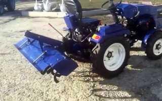 Минитрактор Булат 254 — Агротехника