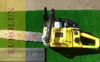 Бензопила Eurolux (Евролюкс): GS-5220, GS-4516, технические характеристики, отзывы