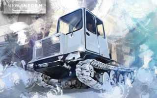 Разработан новый гусеничный трактор ТСН-4, Краткие новости