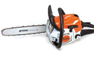 Бензопила Stihl MS 211, характеристики и отзывы