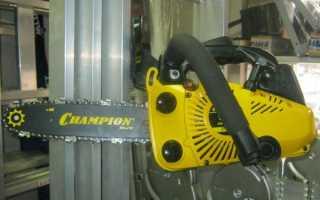 Отзыв о Бензопила Champion 125T, Карманная бензопила