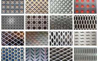 Где используется перфорированная стальная планка?