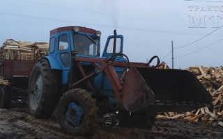 Беларус МТЗ-40: технические характеристики трактора