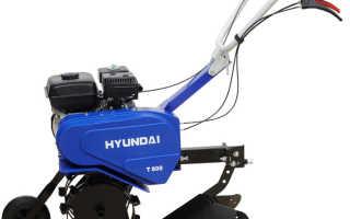 Культиватор Хендай Т 800 двигатель, цена, отзывы и навесное оборудование