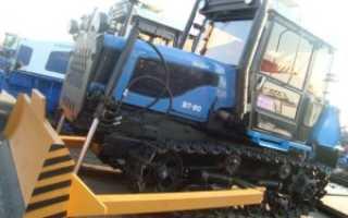 Гусеничный трактор ВТ-90, технические характеристики, органы управления, производитель, Спецтехника